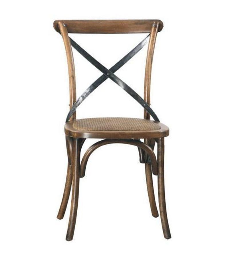 Chaise bistrot grise simple chaise tissu floria gris with chaise bistrot grise chaise de - Chaise bureau maison du monde ...